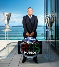 Hublot is the official licensed watch partner
