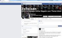 Zeiteisen.at: Seltsame Informationen auf Facebook