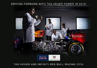 TAG Heuer signs the Red Bull Racing Formula 1 Team