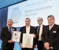 BASELWORLD 2016: NOMOS Glashütte erneut ausgezeichnet