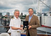 HENTSCHEL HAMBURG ist offizieller Uhrenausrüster der SEA CLOUD II