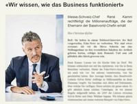 Messe-Schweiz-Chef René Kamm im Interview mit der Basler Zeitung