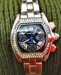 Wer erkennt die abgebildeten Uhren von Cartier und Rolex