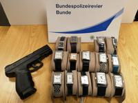 Fahndungserfolg der Bundespolizei an der deutsch-niederländischen Grenze