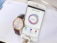 Horological Smartwatch aus Edelstahl