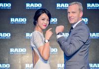 Tang Wei and CEO Matthias Breschan unveiled seven brand new watches