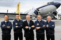 Breitling DC-3 startet grosse Weltumrundung