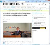 Schwere Niederlage für Automattic Inc. vor Oberstem Gericht in Irland