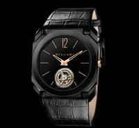 BASELWORLD 2016: Bulgari relies on Octo Ultra Nero Finissimo Tourbillon