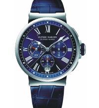 Voller Eleganz: Der Marine Chronograph Annual Calendar