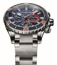 Ulysse Nardin Diver Chronograph Monaco delights the yachting world