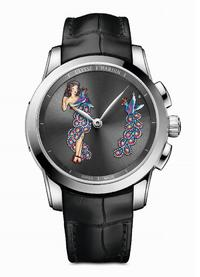 Preview SIHH 2017: Ulysse Nardin seduces collectors of erotic watches