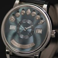 BASELWORLD 2017: Der Perpetuel Secular Calender 20TH Anniversary Blue Gold Dial
