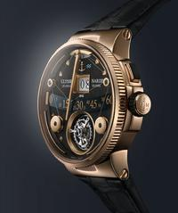DER MARINE GRAND DECK TOURBILLON IN ROTGOLD