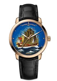 Preview SIHH 2018: The Ulysse Nardin Zheng He Treasure Boat