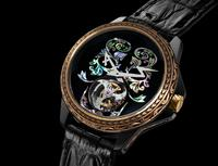 Baselworld 2018: Hand crafted & engraved mother-of-pearl Tourbillon 1/1