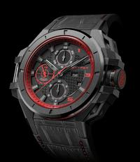 BASELWORLD 2015: Die Ironclad Steel PVD Black Red Edition