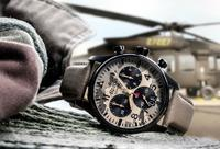 Die Alpina Startimer Camouflage Pilot Big Date Chronograph