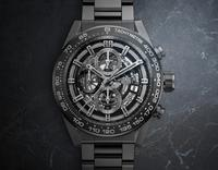 BASELWORLD 2017: TAG Heuer CARRERA HEUER-01 Full Black Matt Ceramic