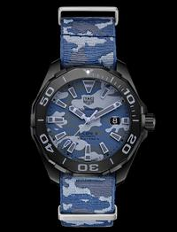 BASELWORLD 2017: TAG Heuer AQUARACER Camouflage 300 Meter – Calibre 5