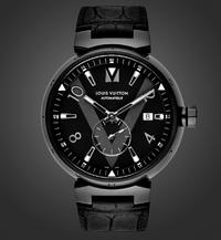 The Louis Vuitton Tambour All Black