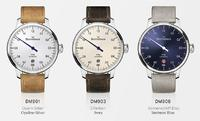 MeisterSinger presents a slim version of its classic wristwatch